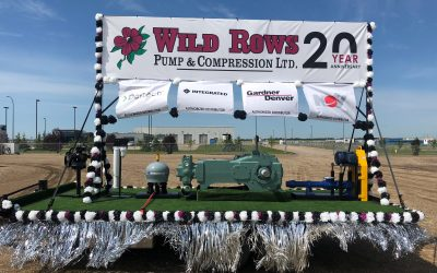 2017 marked the 20th Anniversary of WILD ROWS PUMP & COMPRESSION ltd